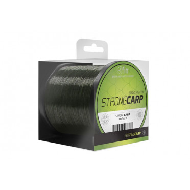 Vlasec na ryby FIN STRONG CARP 300m/tm.oliva0,25mm 12,1lbs