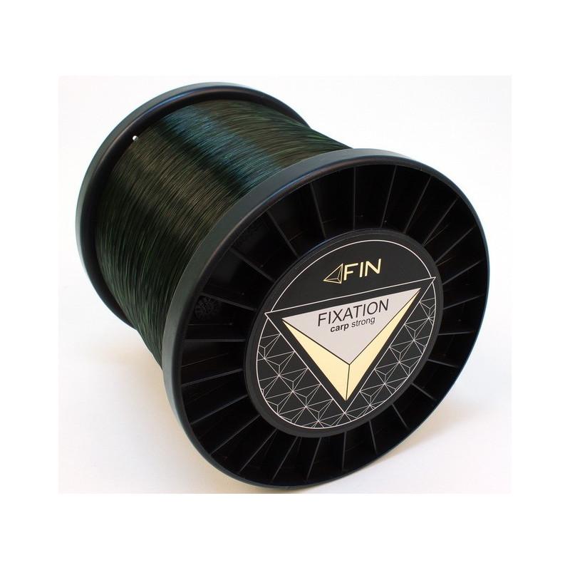 Vlasec na ryby FIN STRONG CARP dark olive 5000m 0,25mm 12,1lb
