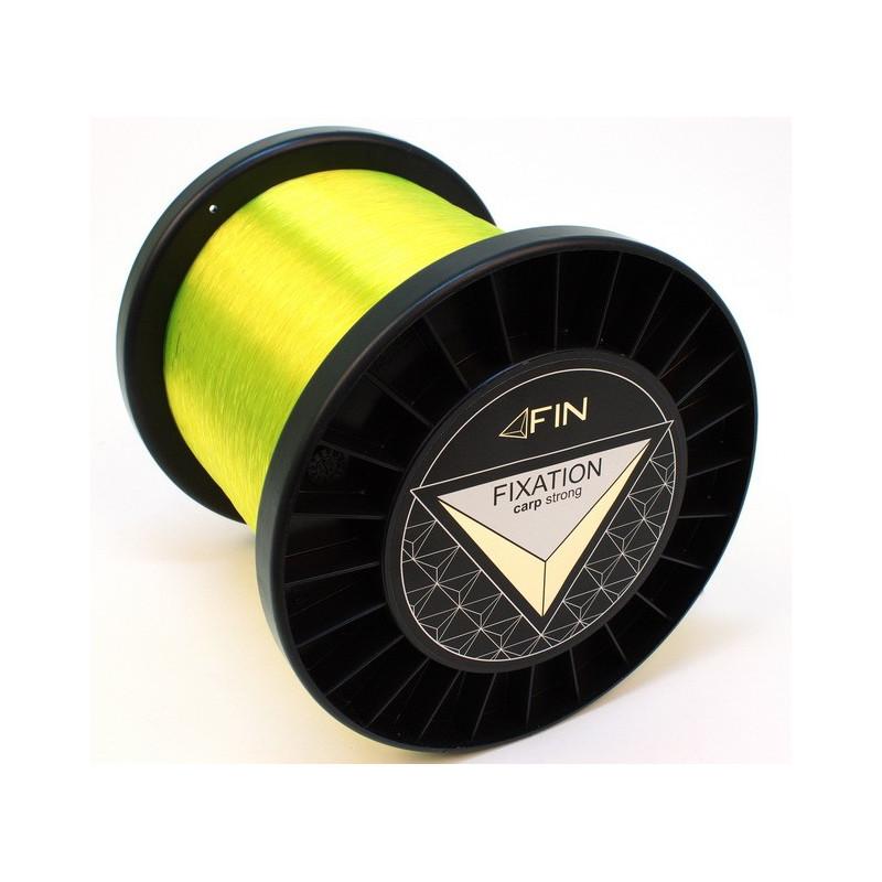 Vlasec na ryby FIN Strong Carp Fluo Žltá 5000m 0,25mm 12,1lb