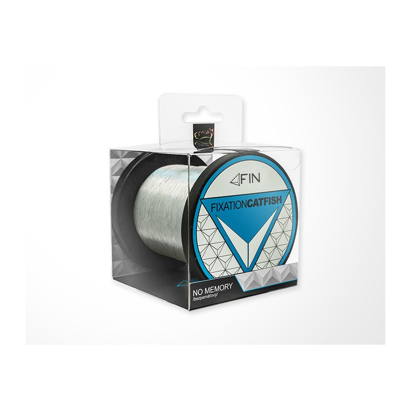 Vlasec na ryby FIN STRONG CAT 2000m / tranp.0,50mm 33lbs