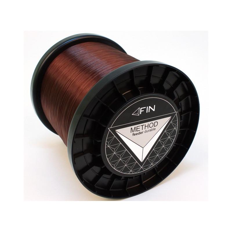 Vlasec na ryby Fin Method Feeder dark brown 5000m 0,25mm 12,1lb