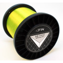 Vlasec na ryby FIN METHOD SPIN fluo yellow 5000m 0,25mm 12,1lb