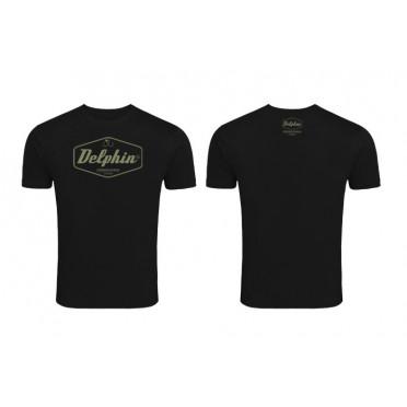 Originálne tričko Delphin Czechoslovakia čierne