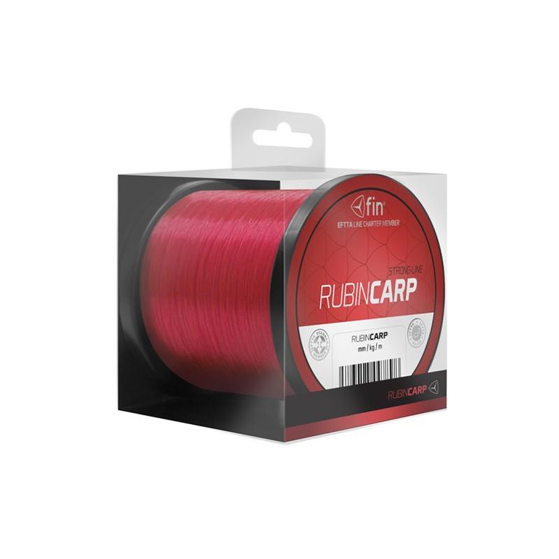 Vlasec na ryby FIN RUBIN CARP red 1200m 0,31mm 18,5lb