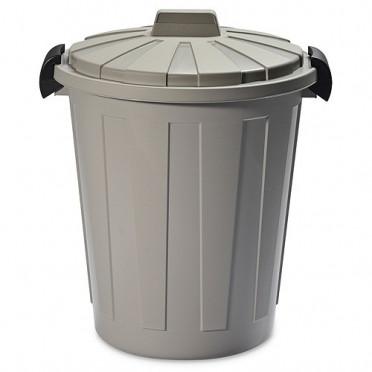 Kos DEAhome Ladybin 45 lit, šedý, na odpad