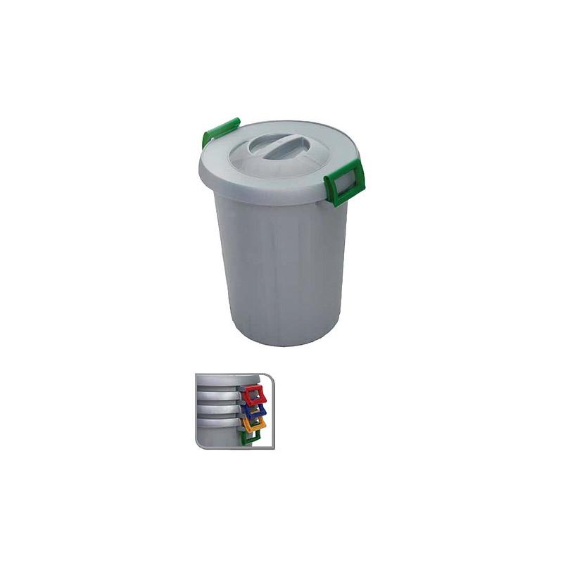Kos na odpad ICS C567025, 25 lit, červený, Okey