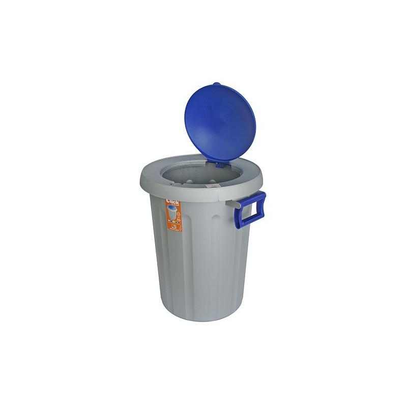 Kos na odpad ICS C572025, 25 lit, modrý, Click2Recycle