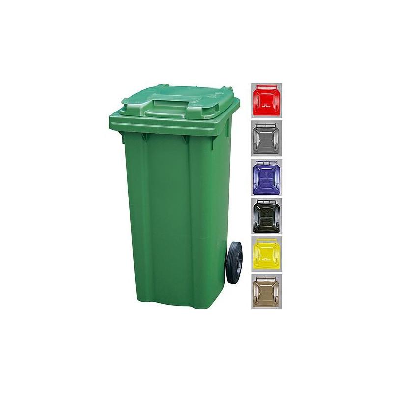 Nadoba MGB 120 lit, plast, červená HDPE