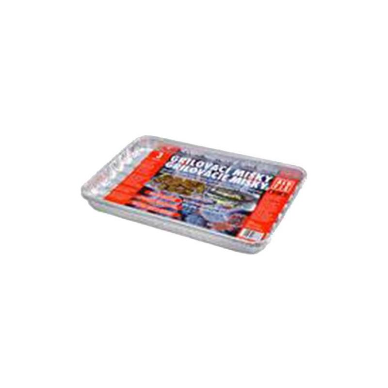 Hliníková miska na grilovanie 34,5 x 23,5 cm 3 ks