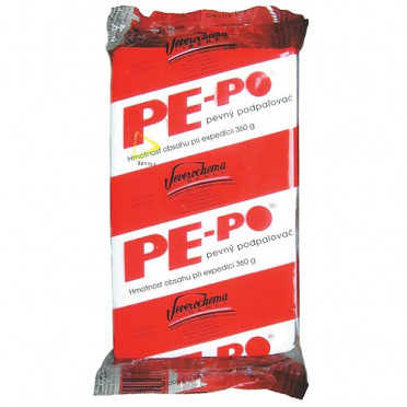 Drevný podpalovač PE-PO® 40 podpalový