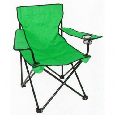 Skladacia stolička na rybačku 53x53x90 cm nosnosť 120 kg zelená