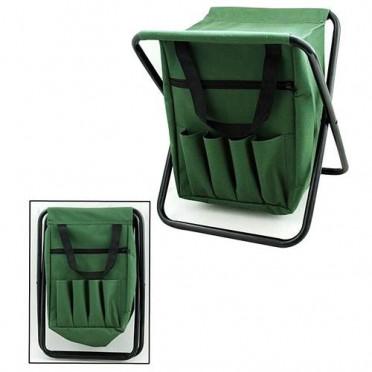 Praktická skladacia rybárska stolička 25x27x32 cm