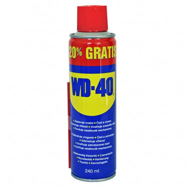 Mazací olej v spreji  WD-40® 240 ml