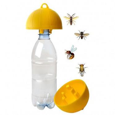 Mechanická pasca na hmyz dimartino® na PET fľašu 3ks balenie