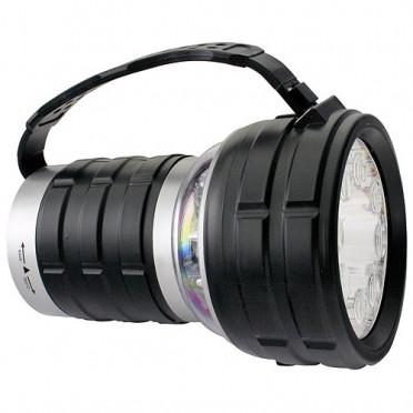 Výkonná baterka pre rybára 12 LED 40 luménov 2v1