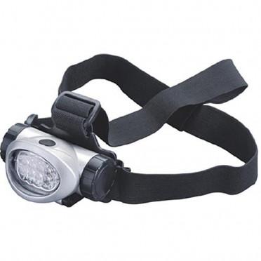Praktická čelová lampa pre rybárov 8 LED