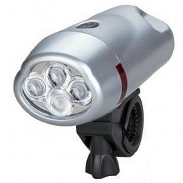 LED baterka na bicykle 4 LED pre rybárov