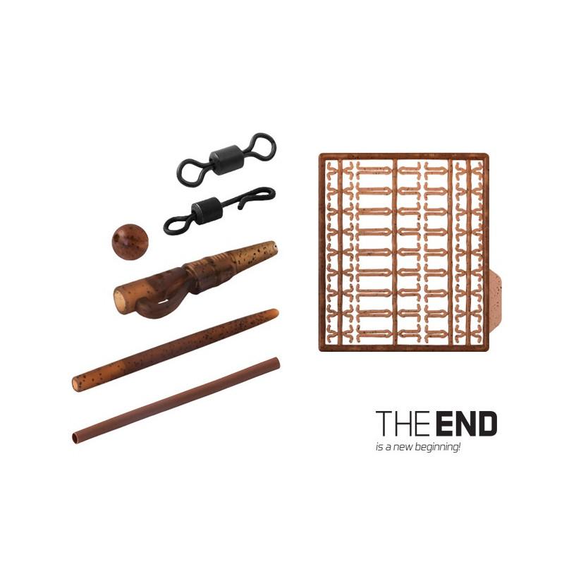 Set kaprárskych montáží THE END / 10 montáží G-ROUND balenie 3ks
