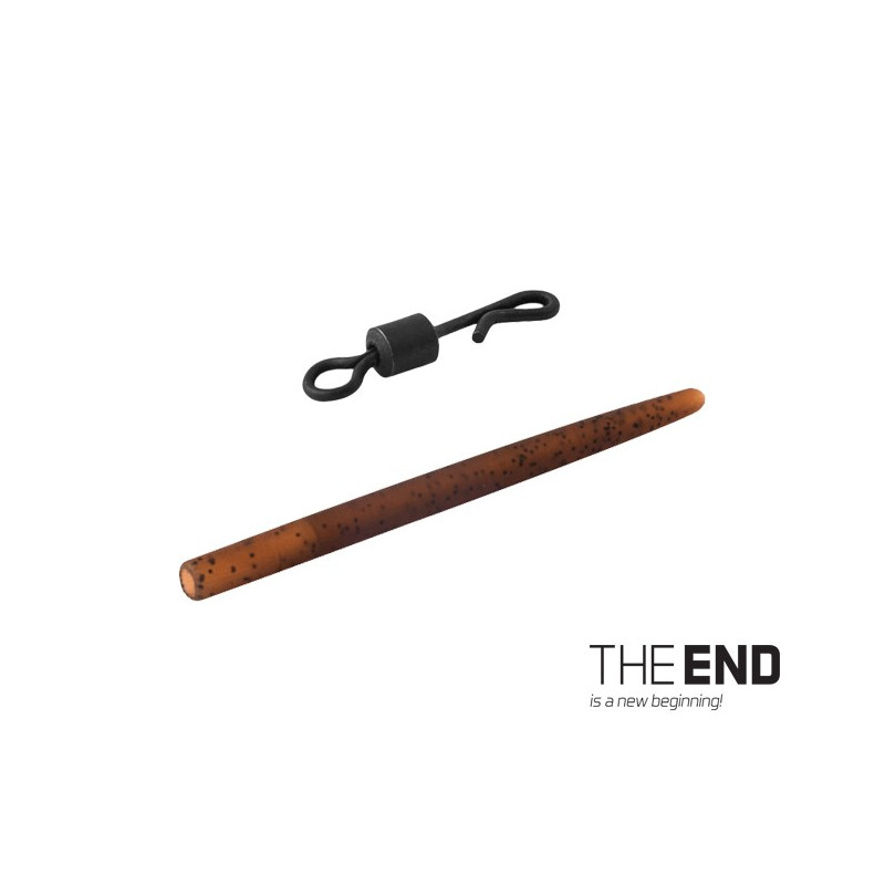 Quick Swap obratlík s gumičkou THE END / 6ks 4 / G-ROUND balenie 5ks