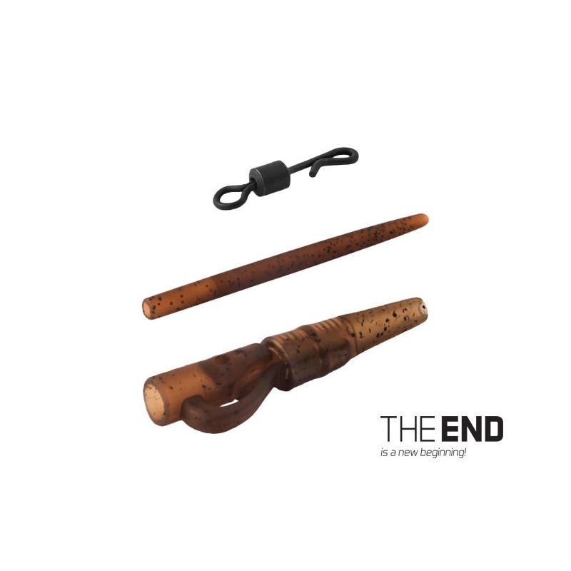 Montáž THE END na olovo pin-quick / 5ks balenie 5ks