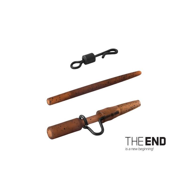 Montáž THE END na olovo heavy-quick / 4ks balenie 5ks