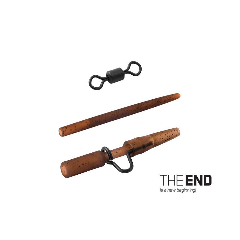 Montáž THE END na olovo heavy-swivel / 6ks balenie 5ks