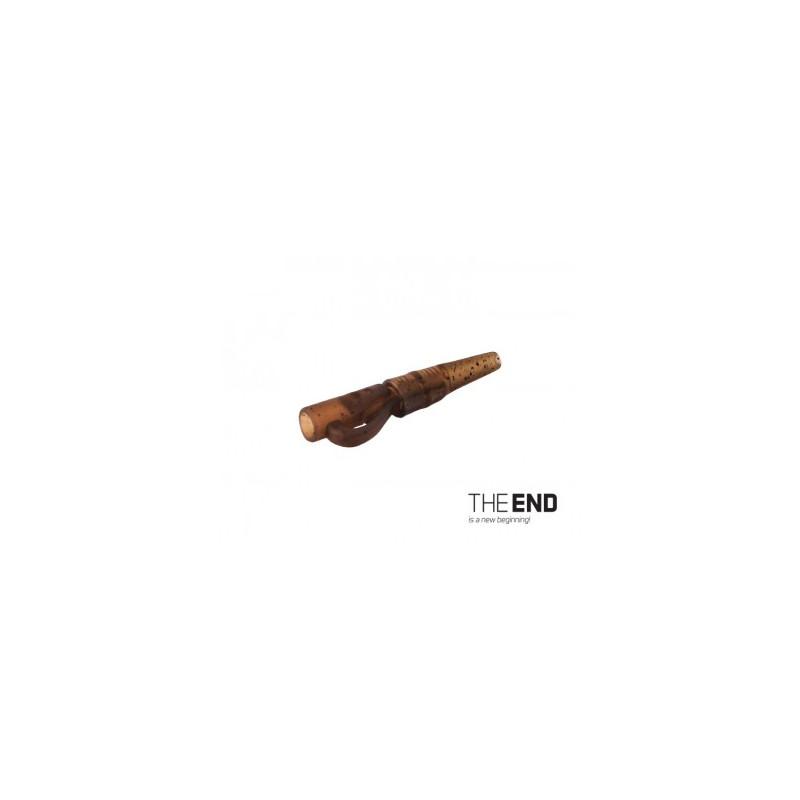 Závesný PIN klip s gumičkou THE END / 10ks G-ROUND balenie 5ks