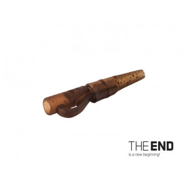 Závesný PIN klip s gumičkou THE END / 10ks G-ROUND