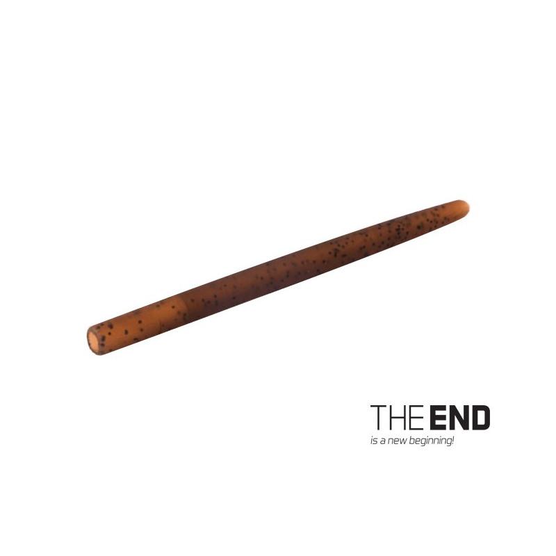 Tvrdá gumička proti zamotaniu THE END / 10ks 4cm / G-ROUND balenie 5ks