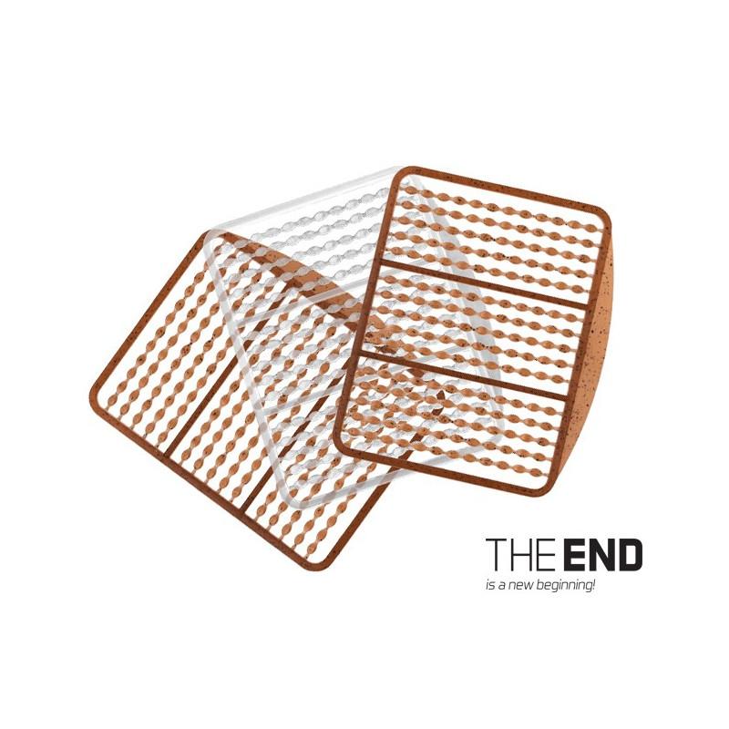Zarážka Simple THE END / 270ks G-ROUND + transp balenie 5ks