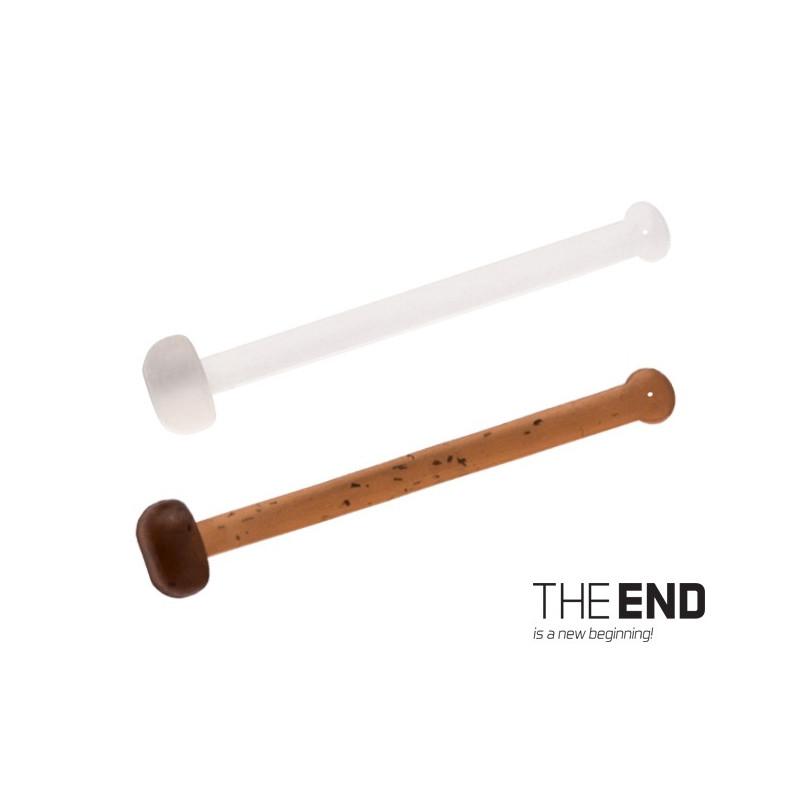 Elastická zarážka nástrahy THE END / 36ks 18,21,25 mm mix balenie 5ks