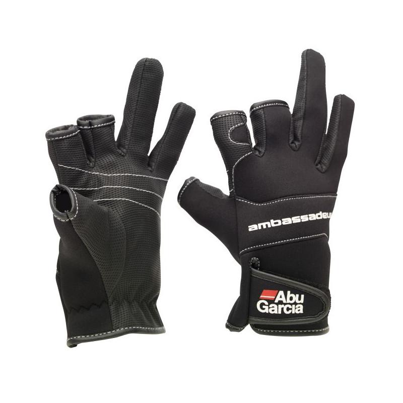Rybárske neoprénové rukavice Abu Garcia XL