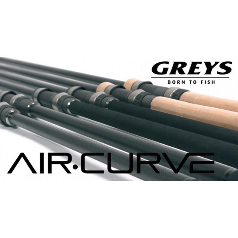 Kaprársky delený prút GREYS  AIR CURVE 3,90m 55-140g korková rukoväť