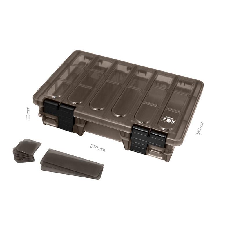 Krabica Delphin TBX Duo 274-11P Clip 274x180x63mm 2ks v balení