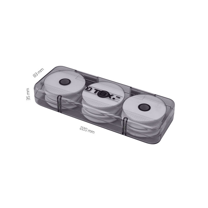 Krabica Delphin TBX Rig 220-6F Magnetic 220x83x35mm 2ks v balení