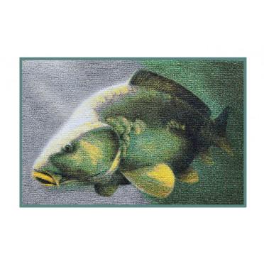 Rybárska rohož 3D kapor 60x40cm