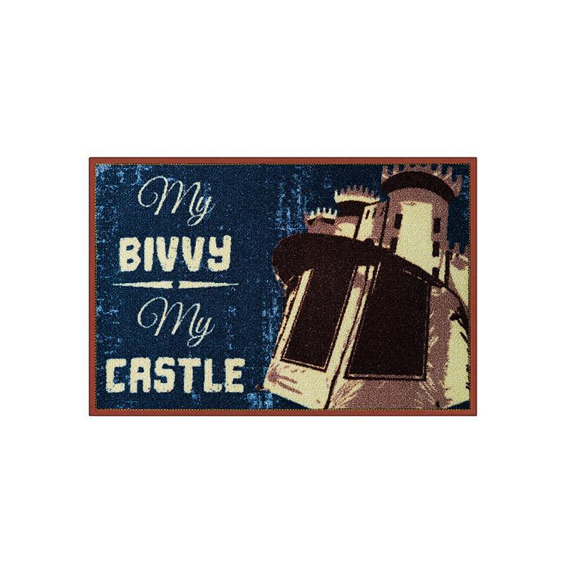 Rohož My bivvy my castle 60x40cm 2ks v balení