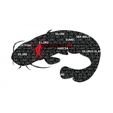 8 + 2 balenia zdarma Rybárska nálepka   SUMEC séria Words