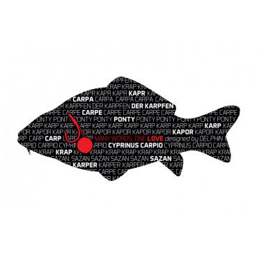 8 + 2 balenia zdarma Rybárska nálepka KAPOR séria Words