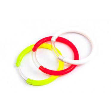 DELPHIN Signalizátor záberu okrúhly/mix 3 farieb rybársky signalizátor záberu