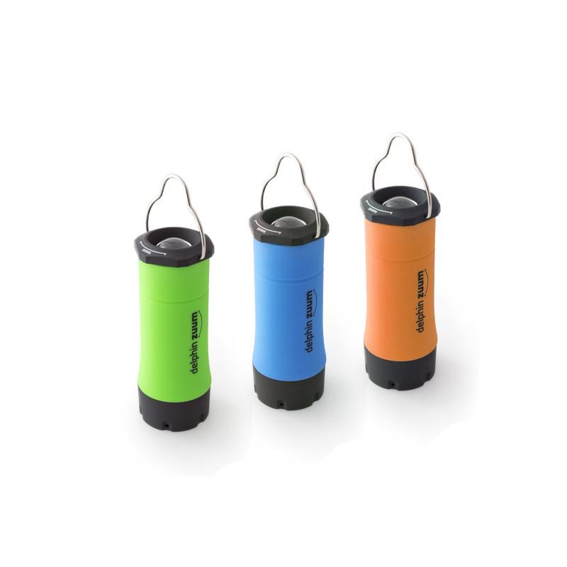 PRiručné svietidlo na baterky Delphin ZUUM rybárske