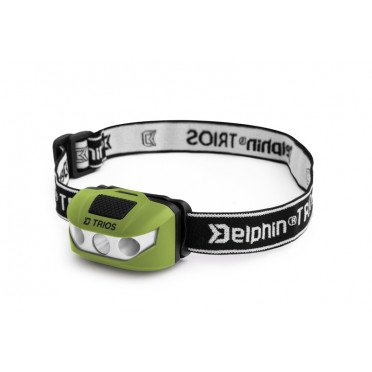Čelová lampa Delphin TRIOS 1W