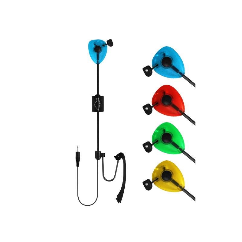 rybársky signalizátor záberu Delphin swinger SKIPER modrý 2ks v balení