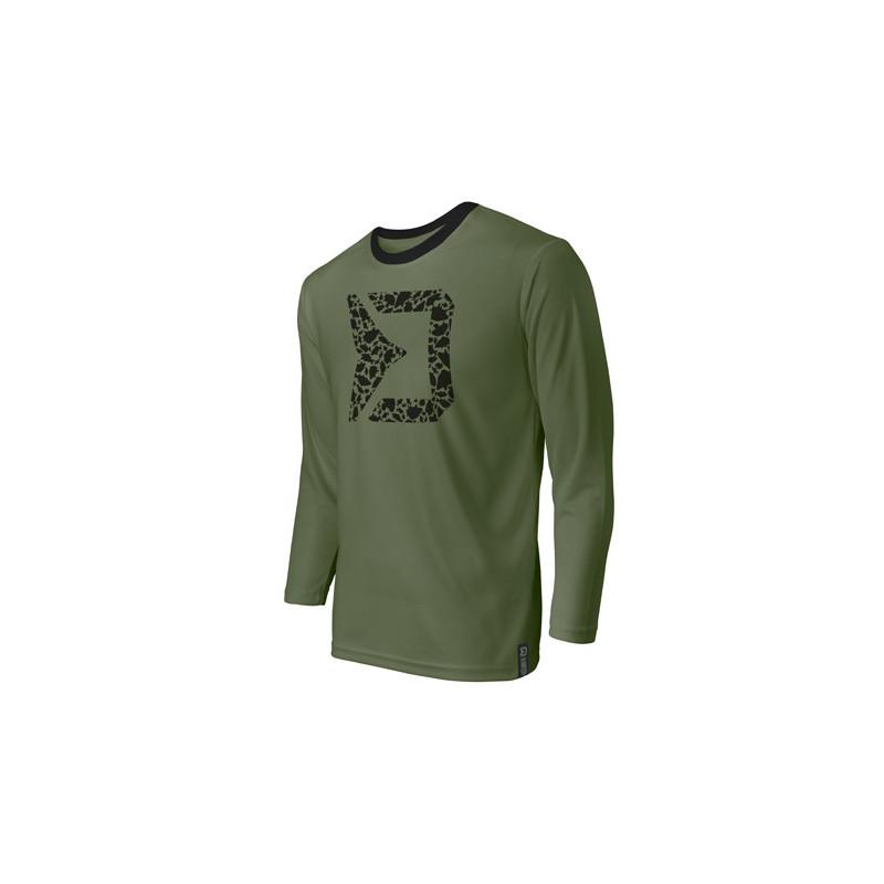 Tričko s dlhým rukávom Delphin RAWER Carpath